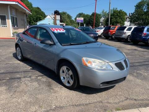 2008 Pontiac G6 for sale at THE PATRIOT AUTO GROUP LLC in Elkhart IN