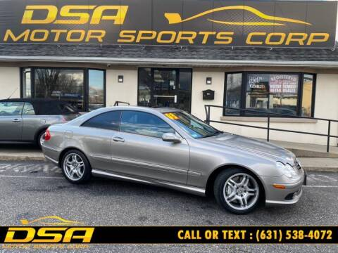 2003 Mercedes-Benz CLK for sale at DSA Motor Sports Corp in Commack NY