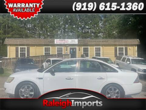 2008 Ford Taurus for sale at Raleigh Imports in Raleigh NC