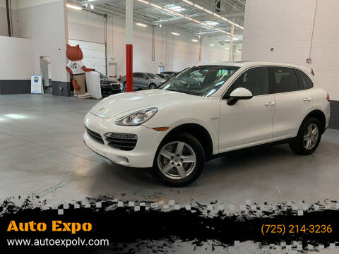 2014 Porsche Cayenne for sale at Auto Expo in Las Vegas NV