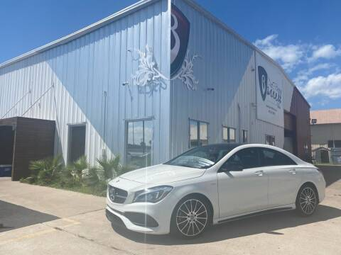 2018 Mercedes-Benz CLA for sale at Barrett Auto Gallery in San Juan TX