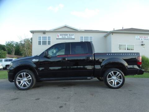 2007 Ford F-150 for sale at SOUTHERN SELECT AUTO SALES in Medina OH