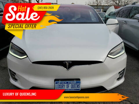 2017 Tesla Model X for sale at LUXURY OF QUEENS,INC in Long Island City NY