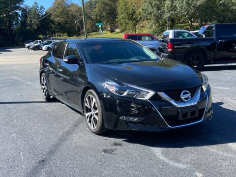 2017 Nissan Maxima for sale at Luxury Auto Innovations in Flowery Branch GA
