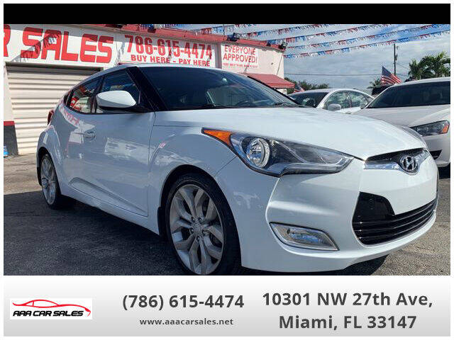 2013 Hyundai Veloster for sale in Miami, FL