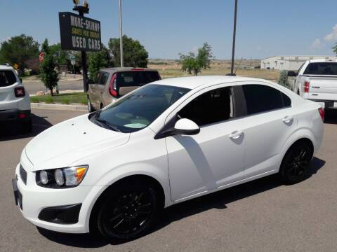 2015 Chevrolet Sonic for sale at More-Skinny Used Cars in Pueblo CO