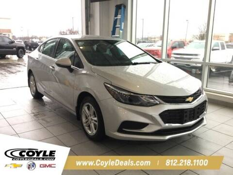 2018 Chevrolet Cruze for sale at COYLE GM - COYLE NISSAN in Clarksville IN