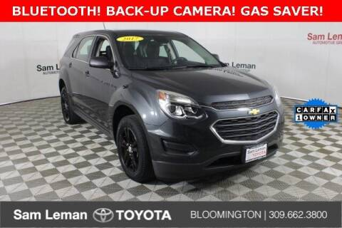 2017 Chevrolet Equinox for sale at Sam Leman Toyota Bloomington in Bloomington IL