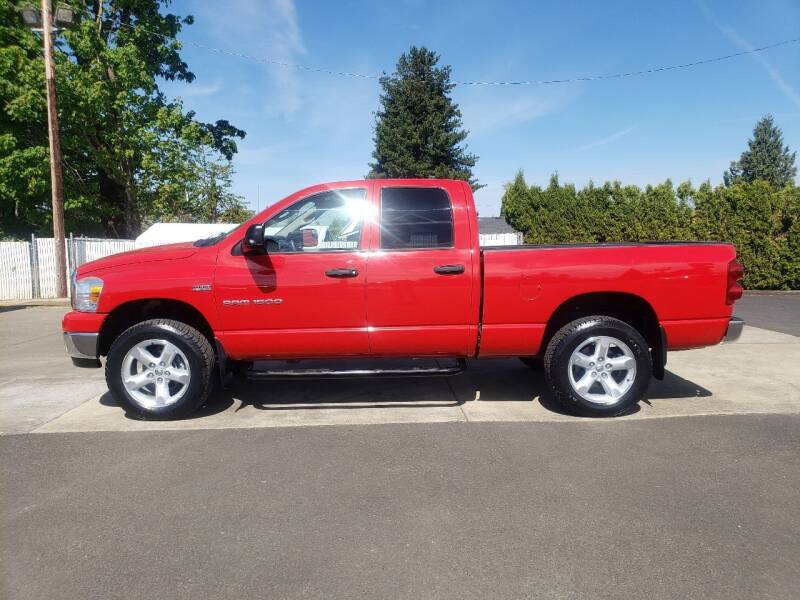 2007 Dodge Ram Pickup 1500 for sale at Select Cars & Trucks Inc in Hubbard OR