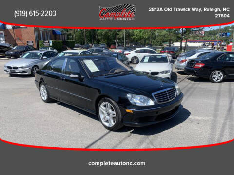 2006 Mercedes-Benz S-Class for sale at Complete Auto Center , Inc in Raleigh NC