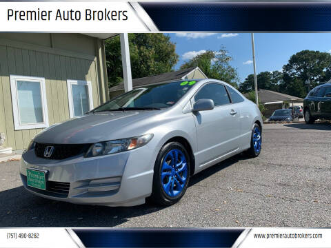 2009 Honda Civic for sale at Premier Auto Brokers in Virginia Beach VA