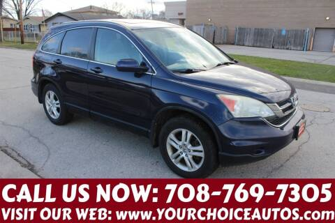 2010 Honda CR-V for sale at Your Choice Autos in Posen IL