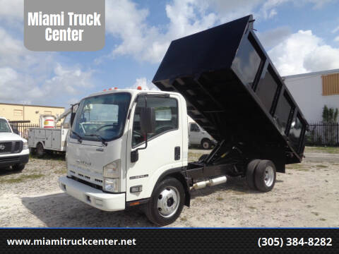 2015 Isuzu NPR-HD for sale at Miami Truck Center in Hialeah FL