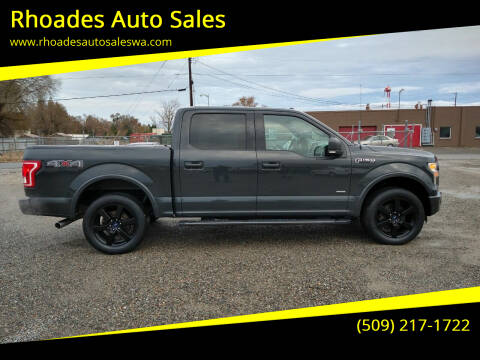 2016 Ford F-150 for sale at Rhoades Auto Sales in Spokane Valley WA