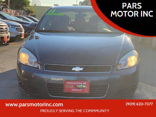 2011 Chevrolet Impala for sale in Pomona, CA