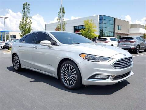 2018 Ford Fusion Hybrid for sale at Southern Auto Solutions - Lou Sobh Kia in Marietta GA