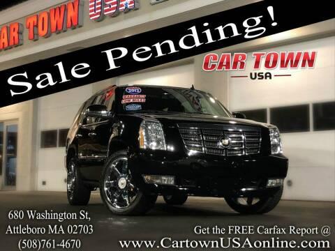 2012 Cadillac Escalade for sale at Car Town USA in Attleboro MA