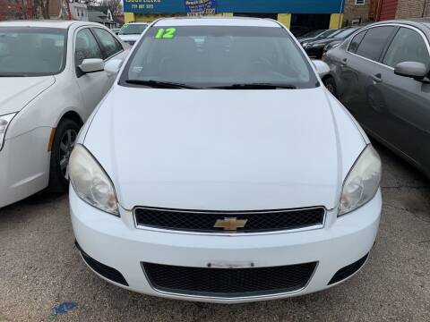 2012 Chevrolet Impala for sale at HW Used Car Sales LTD in Chicago IL