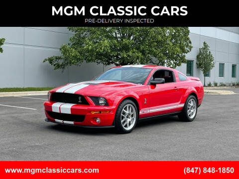 2007 Ford Shelby GT500 for sale at MGM CLASSIC CARS-New Arrivals in Addison IL