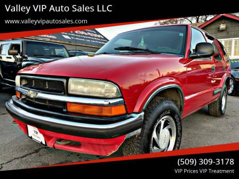 1998 Chevrolet Blazer for sale at Valley VIP Auto Sales LLC in Spokane Valley WA