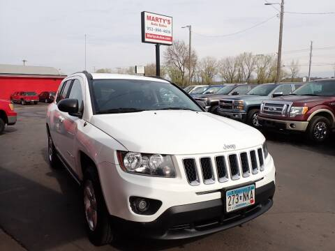 2014 Jeep Compass for sale at Marty's Auto Sales in Savage MN