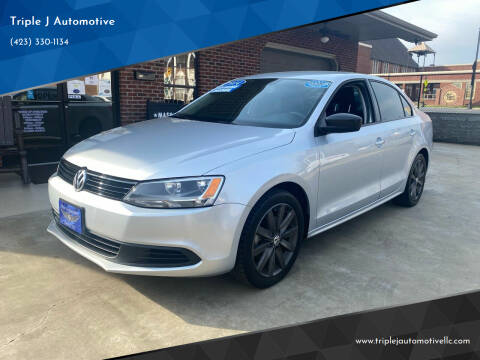 2014 Volkswagen Jetta for sale at Triple J Automotive in Erwin TN