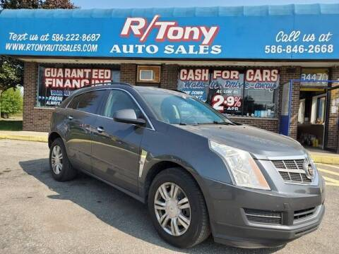 2012 Cadillac SRX for sale at R Tony Auto Sales in Clinton Township MI