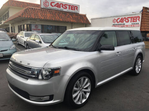 2013 Ford Flex for sale at CARSTER in Huntington Beach CA