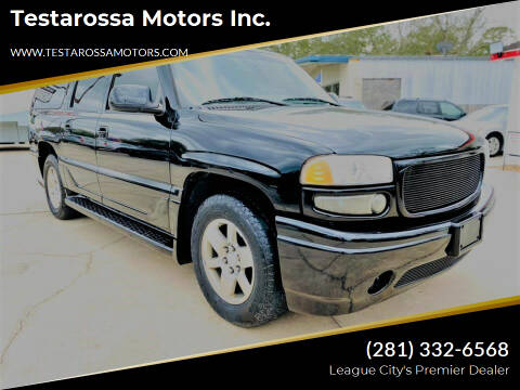2005 GMC Yukon XL for sale at Testarossa Motors Inc. in League City TX