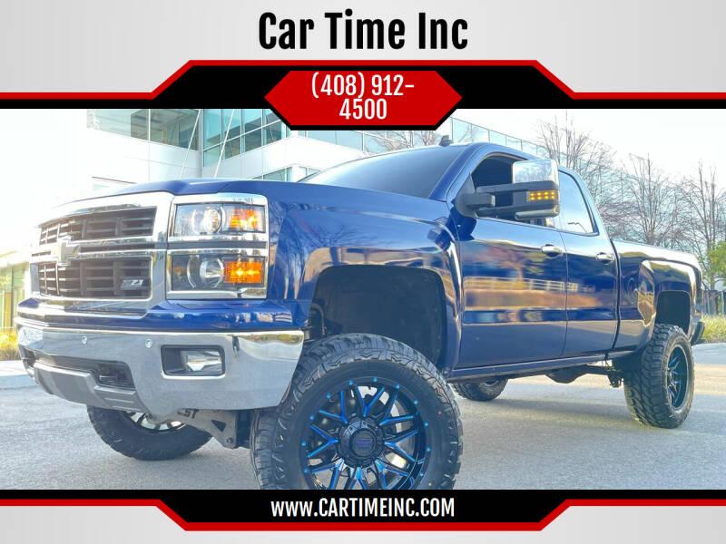 2014 Chevrolet Silverado 1500 for sale at Car Time Inc in San Jose CA