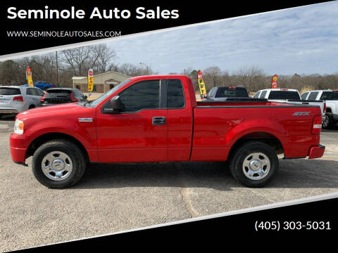 2008 Ford F-150 for sale at Seminole Auto Sales in Seminole OK