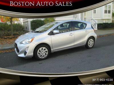 2016 Toyota Prius c for sale at Boston Auto Sales in Brighton MA