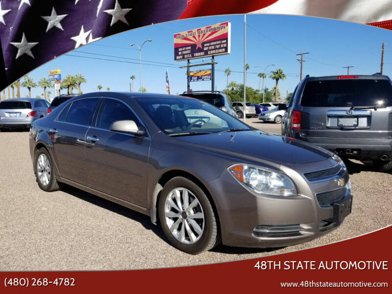 2012 Chevrolet Malibu for sale at 48TH STATE AUTOMOTIVE in Mesa AZ