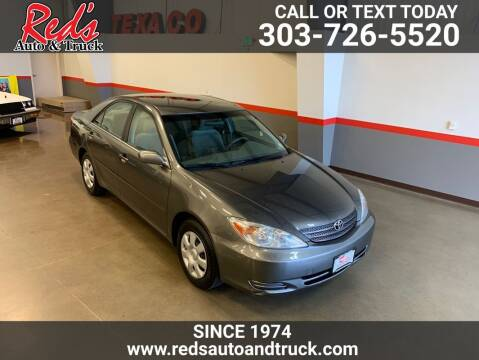 2002 Toyota Camry for sale at Red's Auto and Truck in Longmont CO
