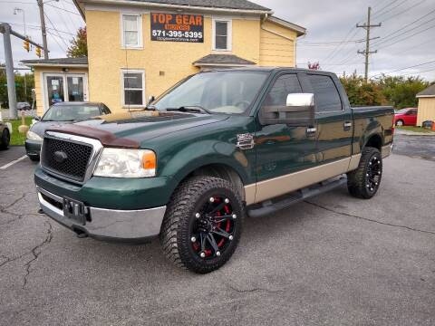 2007 Ford F-150 for sale at Top Gear Motors in Winchester VA