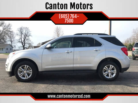 2014 Chevrolet Equinox for sale at Canton Motors in Canton SD