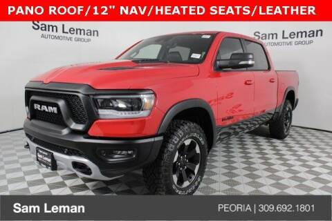 2021 RAM Ram Pickup 1500 for sale at Sam Leman Chrysler Jeep Dodge of Peoria in Peoria IL