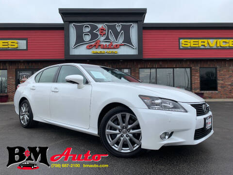 2013 Lexus GS 350 for sale at B & M Auto Sales Inc. in Oak Forest IL