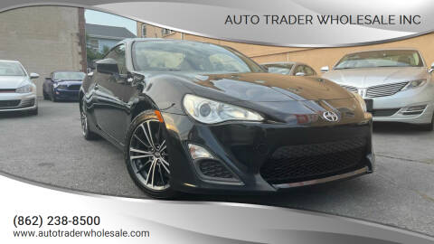 2013 Scion FR-S for sale at Auto Trader Wholesale Inc in Saddle Brook NJ
