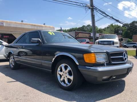 1991 Mercedes-Benz 560-Class for sale at Mega Autosports in Chesapeake VA