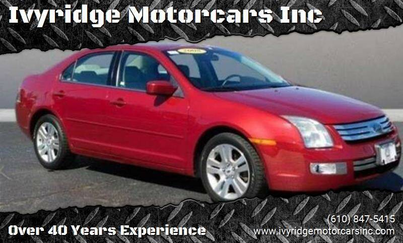2008 Ford Fusion for sale at Ivyridge Motorcars Inc in Ottsville PA