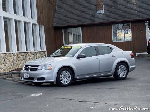 2011 Dodge Avenger for sale at Cupples Car Company in Belmont NH