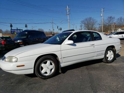 1996 Chevrolet Monte Carlo for sale at COLONIAL AUTO SALES in North Lima OH