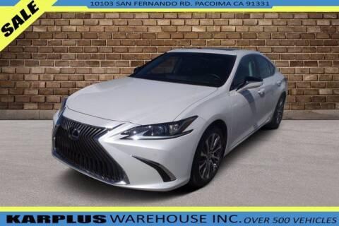 2020 Lexus ES 300h for sale at Karplus Warehouse in Pacoima CA