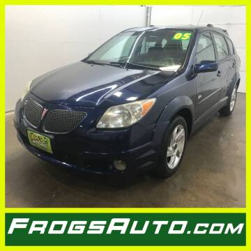 2005 Pontiac Vibe for sale at Frogs Auto Sales in Clinton IA