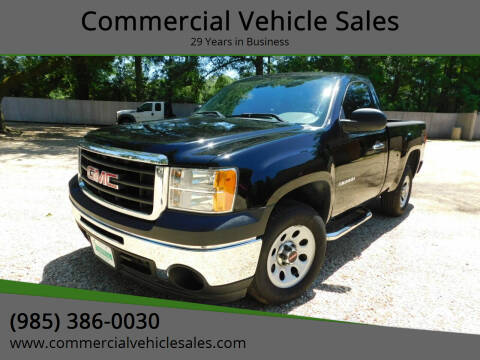 2011 GMC Sierra 1500 for sale at Commercial Vehicle Sales in Ponchatoula LA
