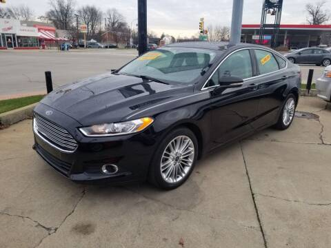 2016 Ford Fusion for sale at Madison Motor Sales in Madison Heights MI