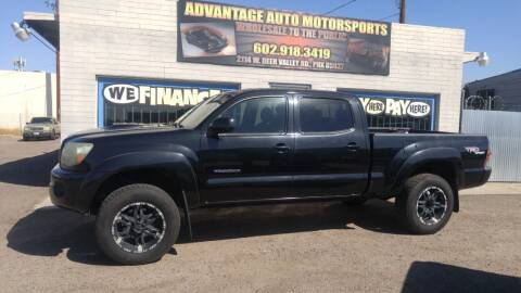 2009 Toyota Tacoma for sale at Advantage Motorsports Plus in Phoenix AZ