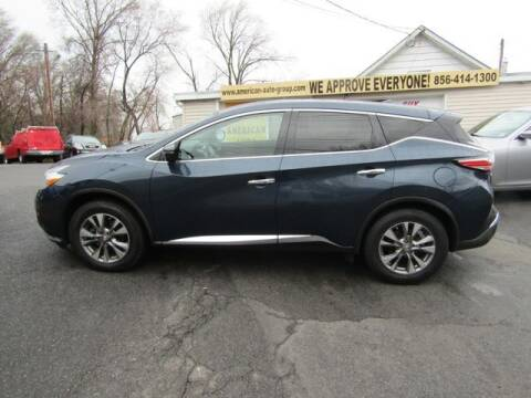 2016 Nissan Murano for sale at American Auto Group Now in Maple Shade NJ