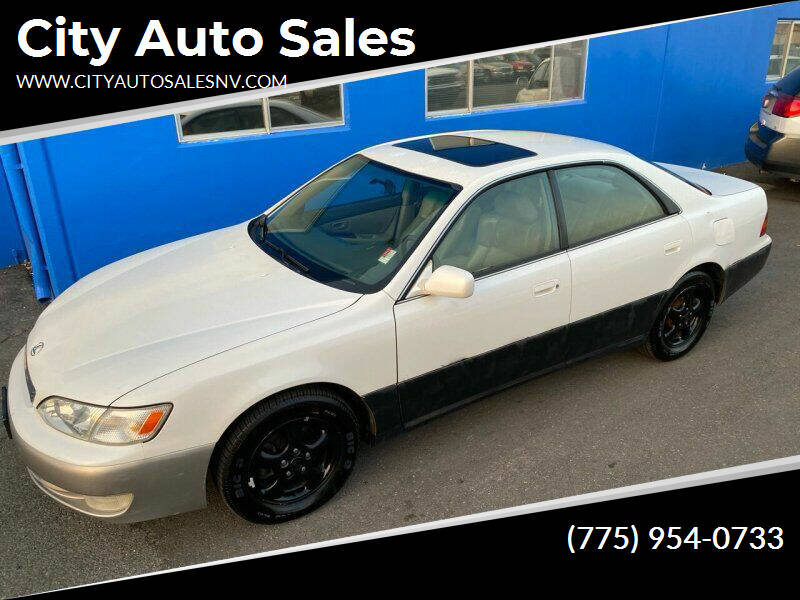 1998 Lexus ES 300 for sale at City Auto Sales in Sparks NV